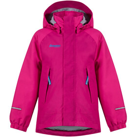 """Bergans Kids Storm Insulated Jacket Cerise/Hot Pink/Light Winter Sky"""